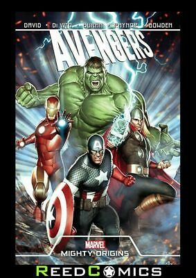 AVENGERS MIGHTY ORIGINS GRAPHIC NOVEL (152 Pages) New Paperback