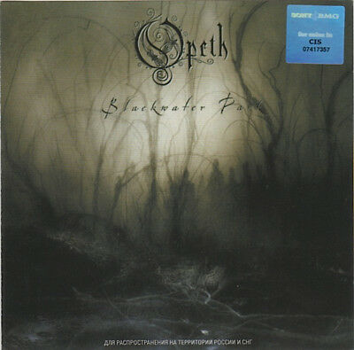 Opeth – Blackwater Park RARE COLLECTOR'S CD! BRAND NEW! FREE SHIPPING!