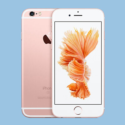 Apple  iPhone 6s - 64GB - Roségold (Ohne Simlock) Smartphone