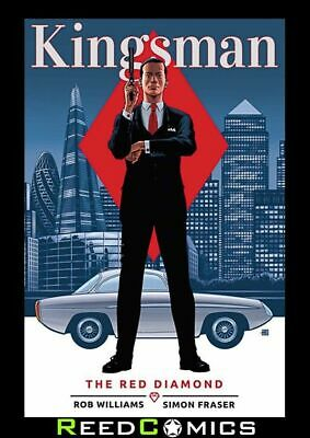 KINGSMAN THE RED DIAMOND GRAPHIC NOVEL New Paperback Collects 6 Part Series