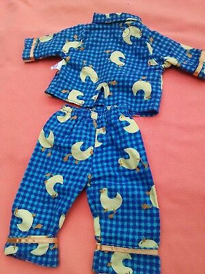 Playmates Amazing Ally Doll Clothes Duck Pajamas PJ