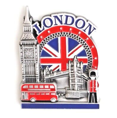 Unique Style Metal Fridge Magnet Home Decor Holiday Souvenir Gift from London