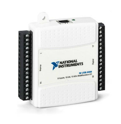 NATIONAL-INSTRUMENTS-NI-USB-6008-Low-Cost-Multifunction-DAQ-Tested-Good