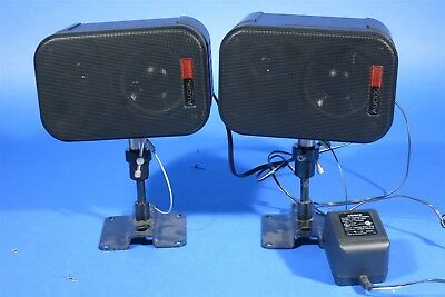 Audix PH-3S Video Shielded Powered Speakers / Monitors Nice Working Great Sound