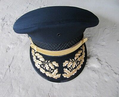 NEW Bayly Uniform Sally Double Round Hat - Police Fireman Military Costume