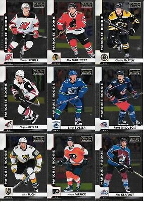 U PICK EM LOT 2017-18 17-18 O-Pee-Chee OPC Platinum RC Base set cards #151-200