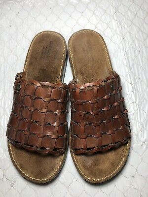 2e5b603497 G. H. BASS & Co. Brown Sandals Size 8 Shoes Low Wedge - $19.99 ...