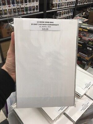Comic Grab Bag DC Marvel Indie 1940 - 2018 CGC Variants #1s Key Issues Signed HC
