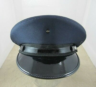 New Lancaster Round Hat - Navy Blue - Police Fire Cadet Driver Costume