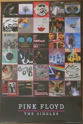 Pink Floyd - Singles-Poster-Laminated available-91cm x 61cm-Brand New