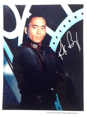 Richard Biggs/Dr Franklin Babylon 5 Autograph 8x10 Color Photo-7 Diff Available