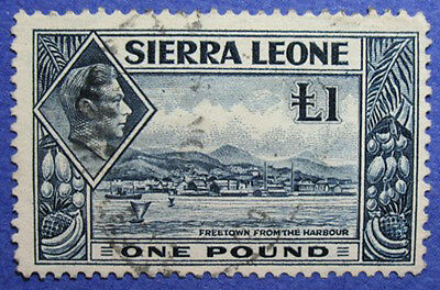 1938 Sierra Leone 1P Scott# 185 Sg# 200 Used Cs06235