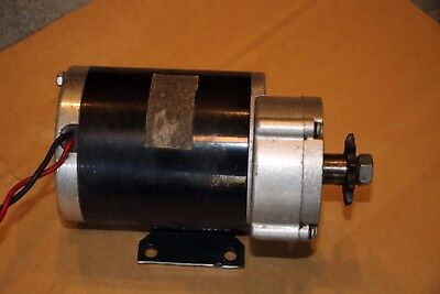 36V 750W Brushed DC Motor with Gearbox Reduction MY1020Z