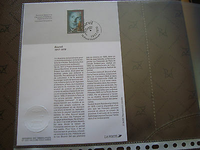 FRANCE - document 1st day 17/9/1994 (bourvil) french
