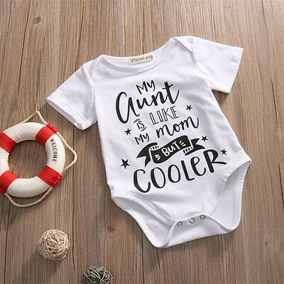 Newborn Toddler Baby Boy Girl Clothes Cotton Romper Bodysuit Kid Jumpsuit Outfit