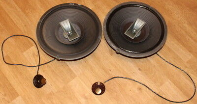 2 Vintage Electro-Voice EV Wolverine LT12 3-Way Speakers w/Control Knobs