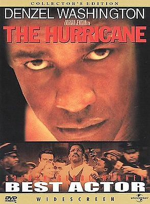 The Hurricane: Collector's Edition (DVD, 2000, Denzel Washington DISC ONLY