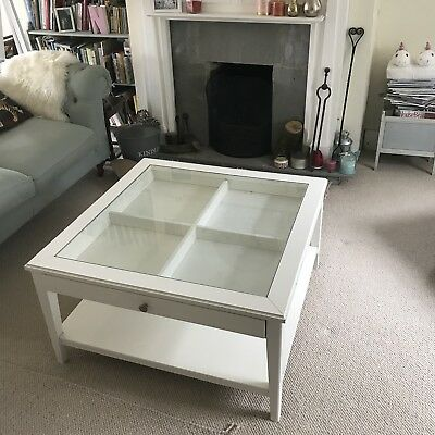 Ikea Liatorp Glasswhite Coffee Table 2999 Picclick Uk