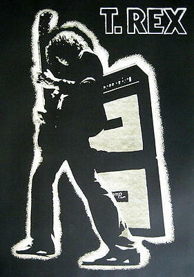 "T. Rex / Marc Bolan Poster ""electric Warrior"""