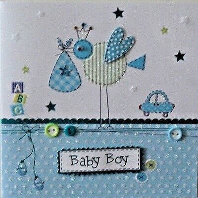 new baby boy congratulations card handmade new arrival greeting card