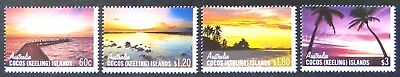 2012 Cocos Keeling Island Stamp - Skies/Susets of Cocos - Set of 4 MNH