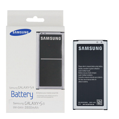 NEW Original OEM Samsung Galaxy S5 Battery 2800mAh EB-BG900BBE with NFC
