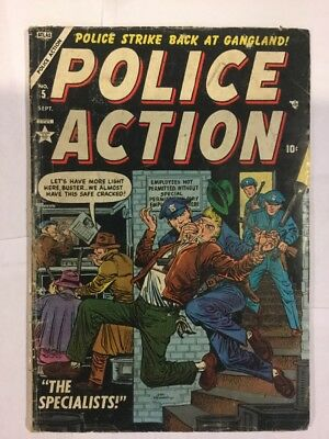 Police Action, Issue 5, 1954