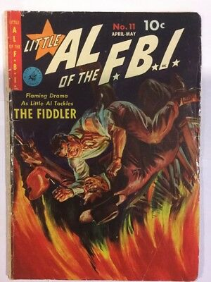 Little Al of the FBI, Issue 11