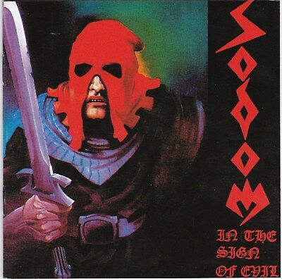 Sodom ‎– In The Sign Of Evil / Obsessed By Cruelty RARE CD! FREE SHIPPING!