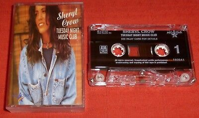 Sheryl Crow - Cassette Tape - Tuesday Night Music Club