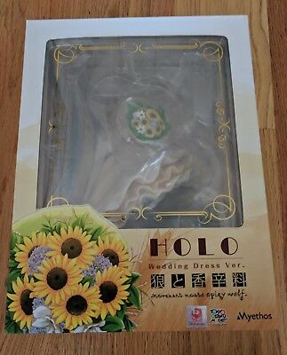 Spice and Wolf Holo Wedding Dress Ver. 1/8 Scale Figure Myethos NEW AUTHENTIC