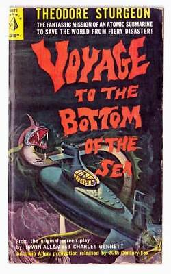 VOYAGE TO THE BOTTOM OF THE SEA by Theodore Sturgeon - 1961 Pyramid paperback