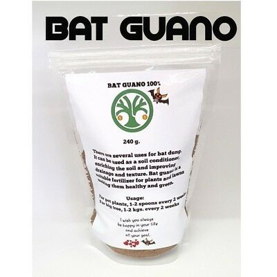 Bat Cave Guano 100% Natural Organic Nutrients Plants Fertilizer Indoor Outdoor