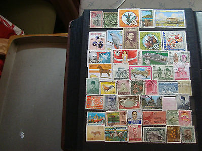 ASIE - 44 stamps canceled (all state) stamp