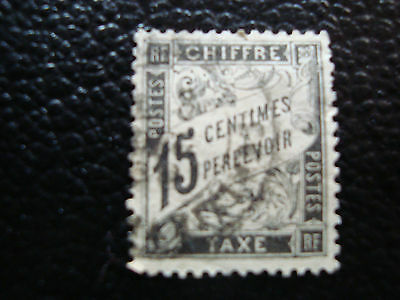 FRANCE - stamp yvert and tellier tax n° 16 obl (A15) stamp french (A)