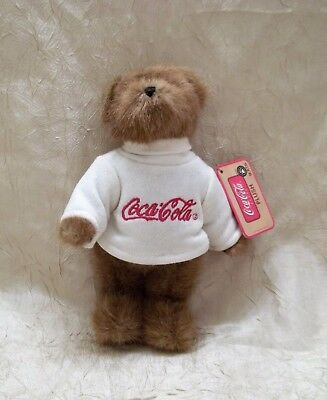 Coca-Cola Boyd's Bears Jointed Bear Plush Toy Billy New with Tags