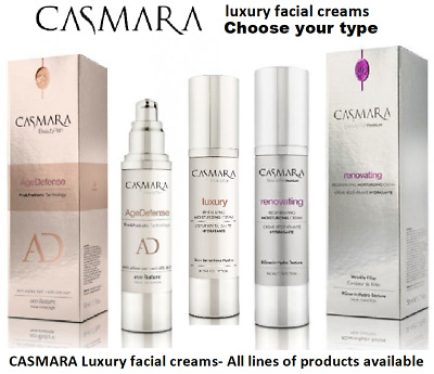 CASMARA facial lux CREAMS-CHOOSE Any type Available-Boost peel off mask results