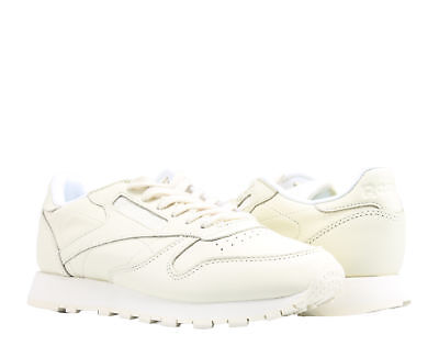 665bd358c83 Reebok Classic Leather Pastels Washed Yellow White Women s Running Shoes  BD2772
