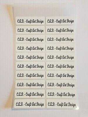 Iron On Labels, Name Labels, Tags, Personalised Custom Labels Waterproof  C1