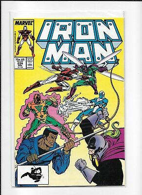 Iron Man #224 Higher Grade (8.5) Marvel