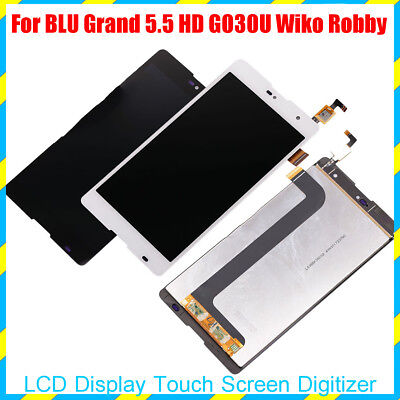 For BLU Grand 5.5 HD G030U Wiko Robby LCD Display Touch Screen Digitizer Replace