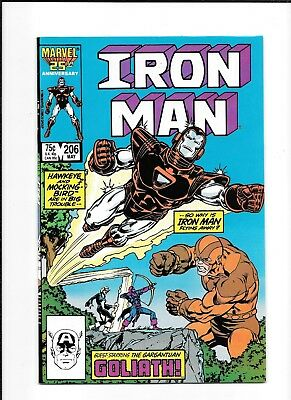 Iron Man #206 Higher Grade (8.5) Marvel
