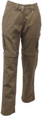 Regatta Catla Zip Off Ladies Pants - Brown