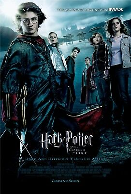 Harry Potter And The Goblet Of Fire Poster Film Art A4 A3 Print Cinema