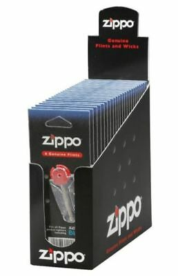 "Zippo ""Flint Cards"", Full Box, 24 Pks, 144 Total Flints, 2406N"