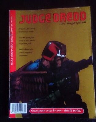 Judge Dredd No 7 1994 Mega Special Comic