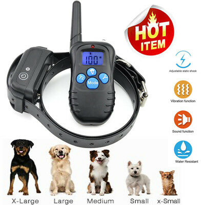 Pet Trainer Waterproof Dog Training Collar with Vibration Shock Electric Collar