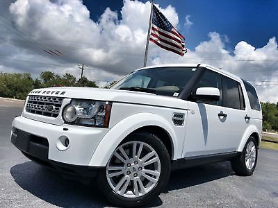 Land Rover LR4 HSE LOADED 2 OWNER FLORIDA TRADE IN HSE*TRIPLE ROOFS*3RD ROW*CARFAX CERT*NAV*H/K*BOOKS/RECS*WE FINANCE*FLA