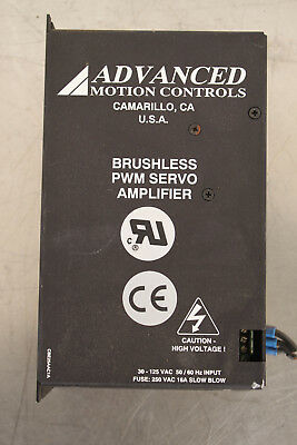 Advanced Motion Controls Be25A20Ace-Inv Brushless Servo Amplifier