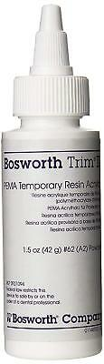 Bosworth 921094 Trim II Temporary Crown & Bridge Resin Powder #62 A2 1.5 Oz